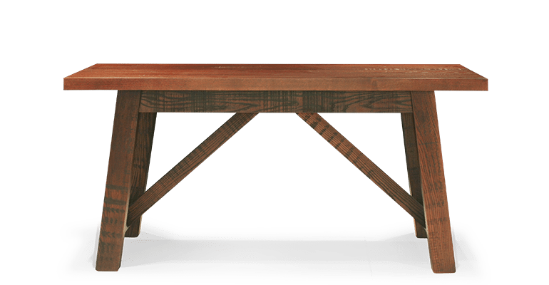 TB Norse Table Stained Maple Front