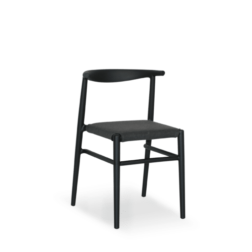 CH Alba Chair black side