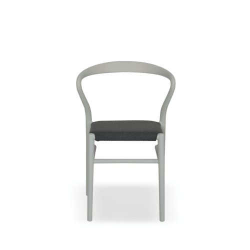 CH Avery Chair black light brown front