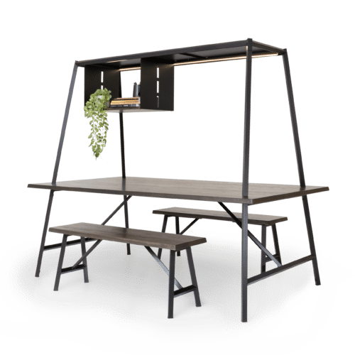 TB Diamond Canopy Table timber setting carbon