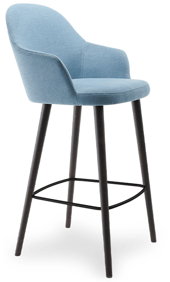ST Cocktail Stool blue sitewide