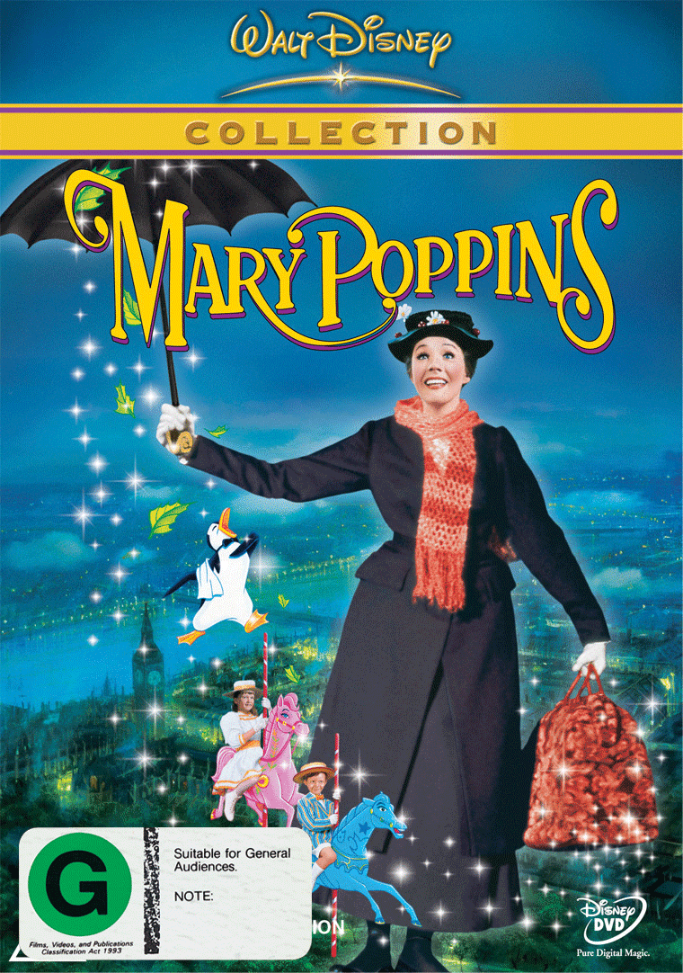 Mary Poppins WDC DVD D