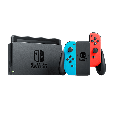 Nintendo Switch Console Neon