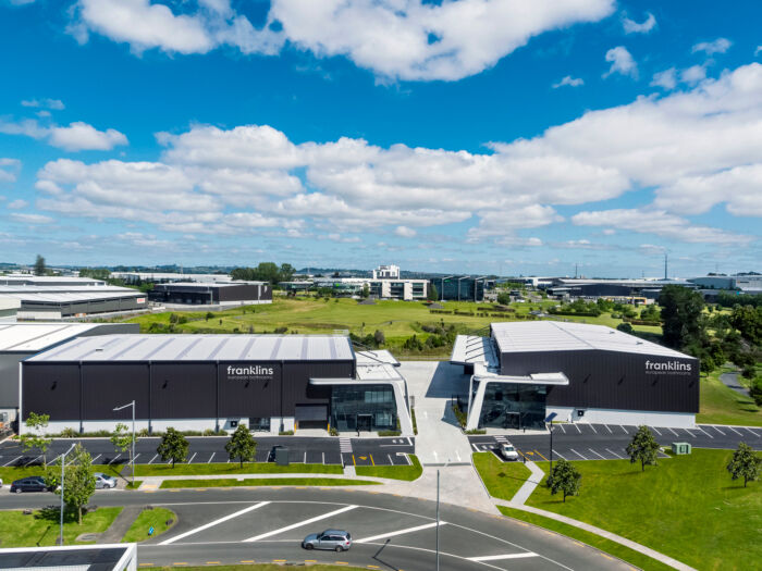 NZ Highbrook Waiouru Point Aerial  Franklins Added