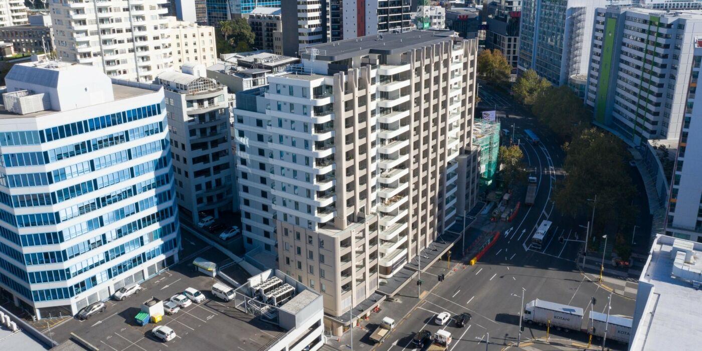 Antipodean Apartments aerial