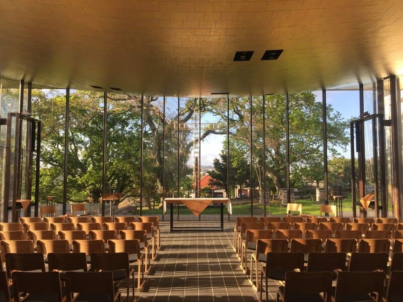 Bishop Selwyn Chapel St Marys Church interior