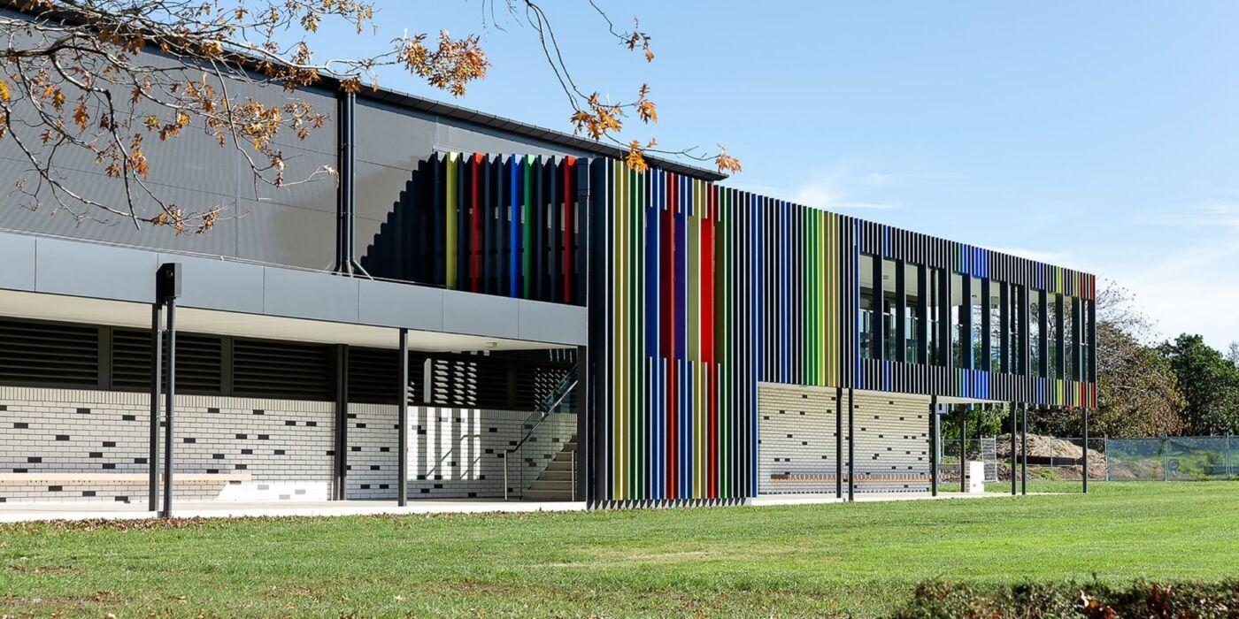 Dilworth sports centre exterior