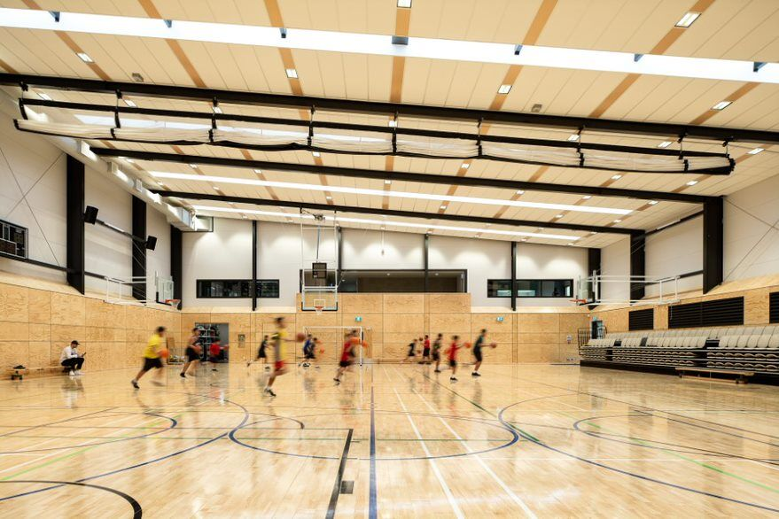Dilworth sports centre courts