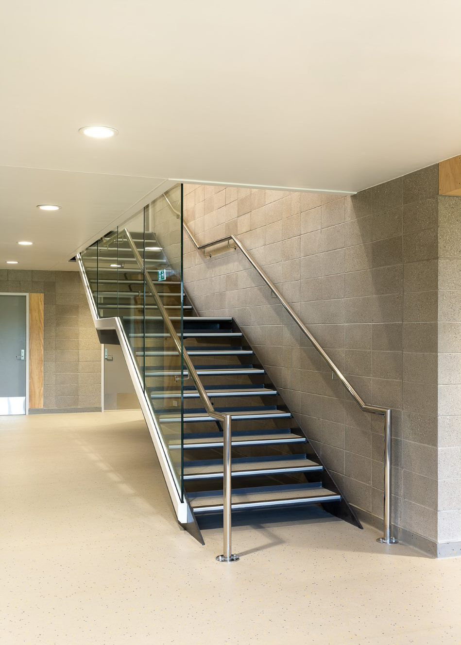 Dilworth sports centre internal stair case