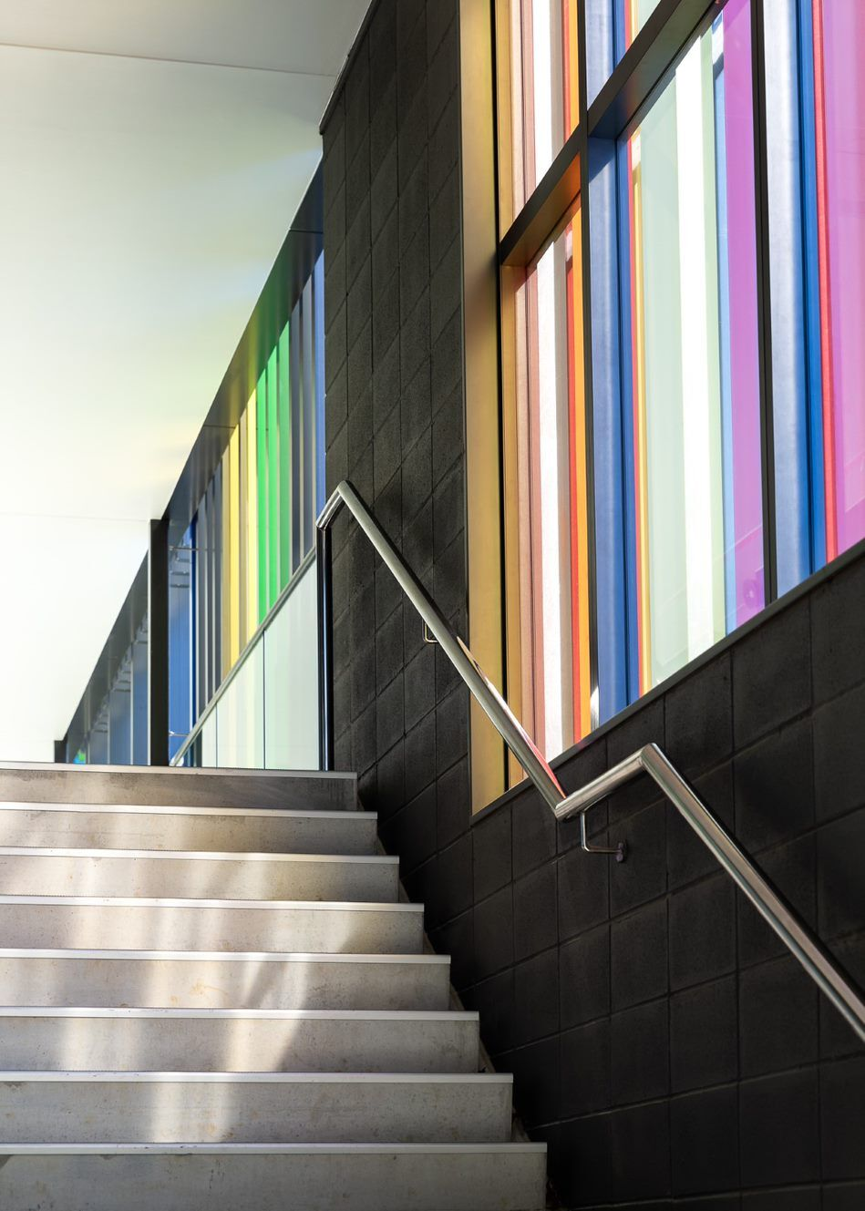 Dilworth sports centre stairs