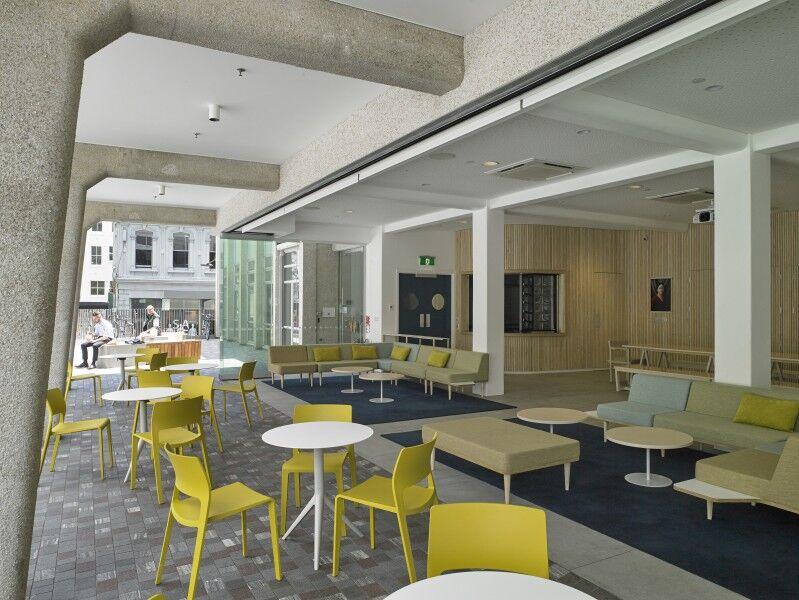 Ellen Melville Centre Freyberg Square furniture