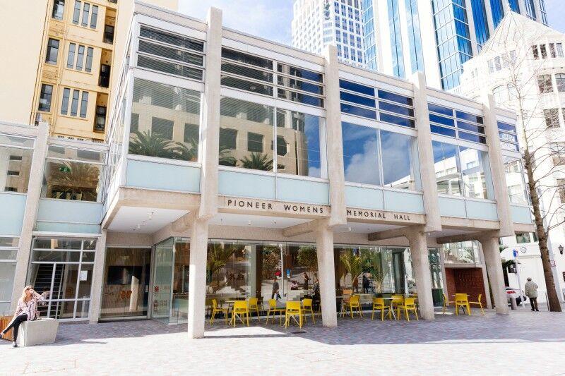 Ellen Melville Centre Freyberg Square hall