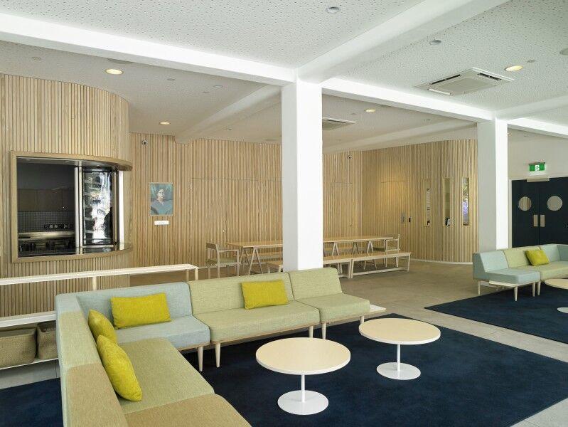 Ellen Melville Centre Freyberg Square interior