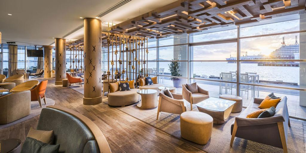 Hilton hotel Refurbishment Bar