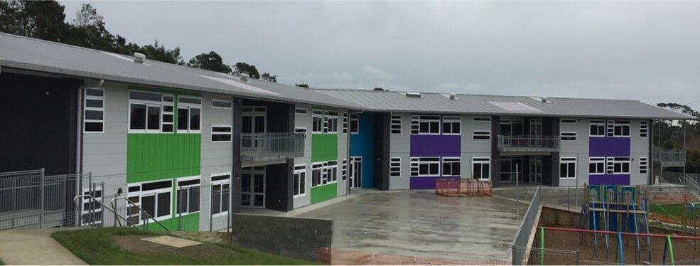 Huapai School Exterior