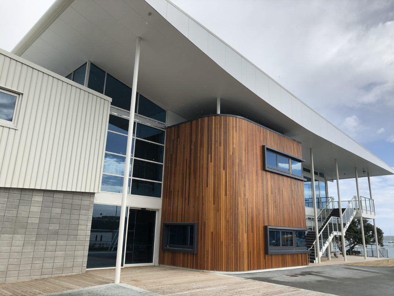 Hyundai Marine Sports Centre entrance