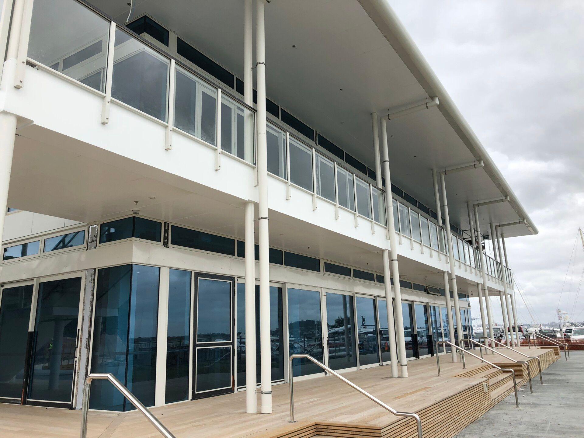 Hyundai Marine Sports Centre exterior