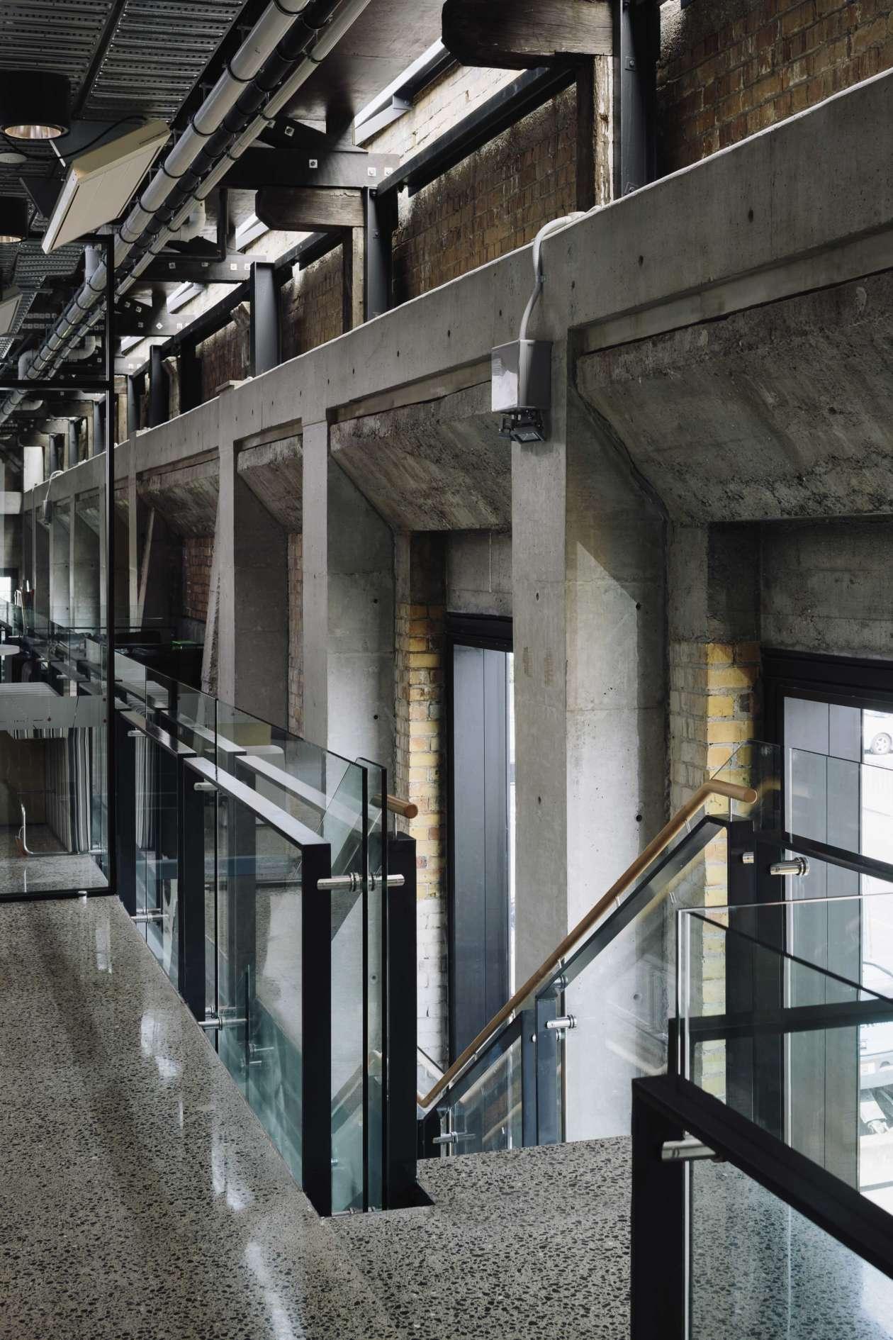 John Lysaght Building stairs