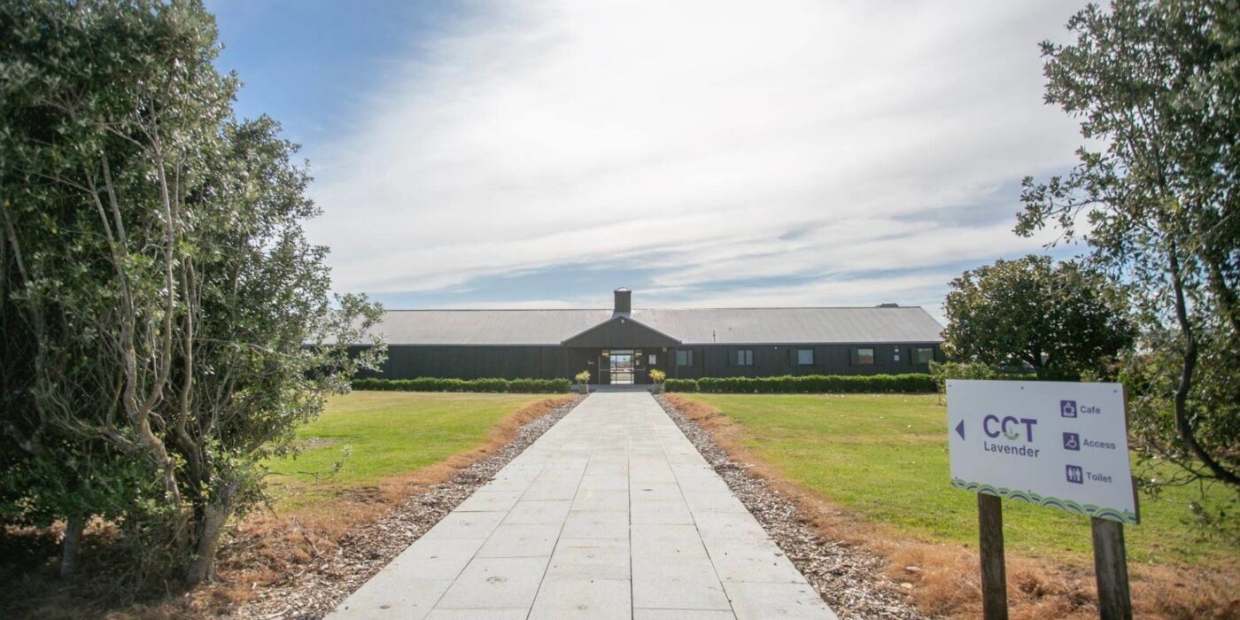 Lavender Farm Building