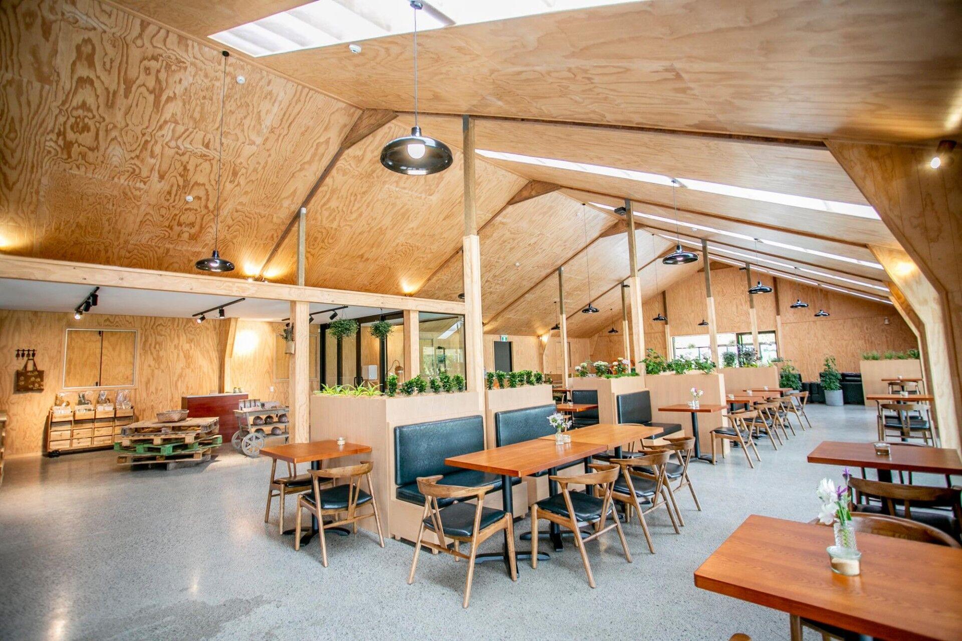 Lavender Farm Cafe inside