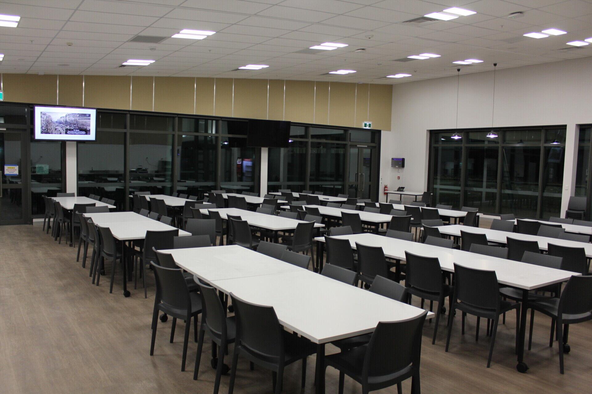 PRDC cafeteria