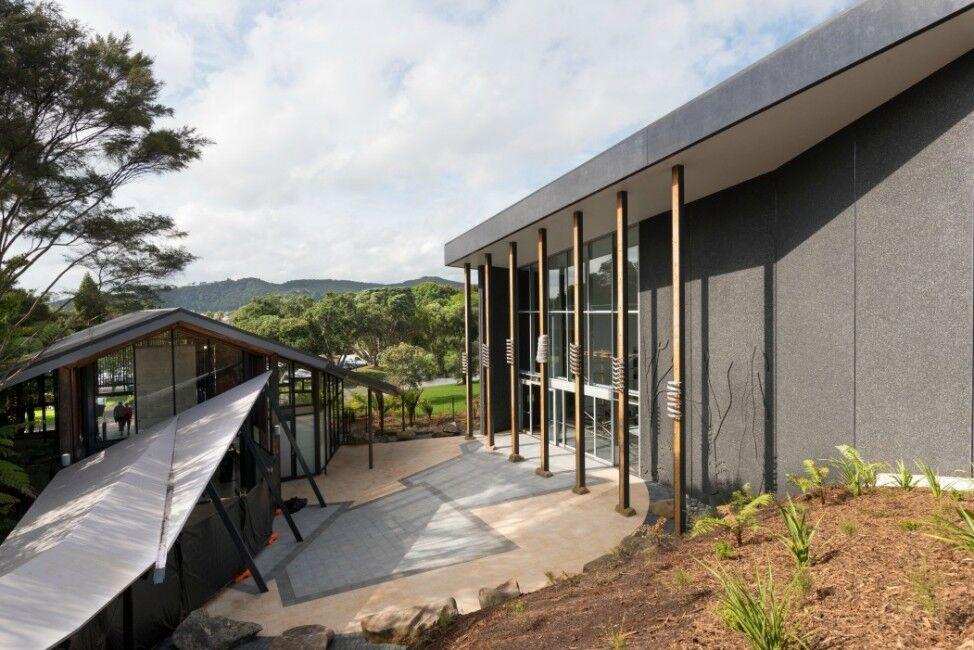 Te Kōngahu museum of waitangi exterior