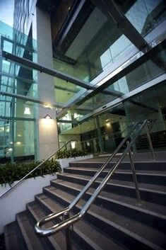 Telecom Tower Entrance