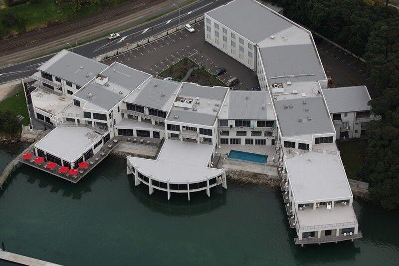 The Sebel Trinity Wharf aerial