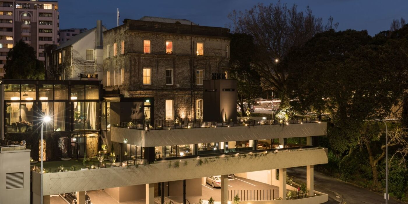 bankside extension northern club exterior nighttime