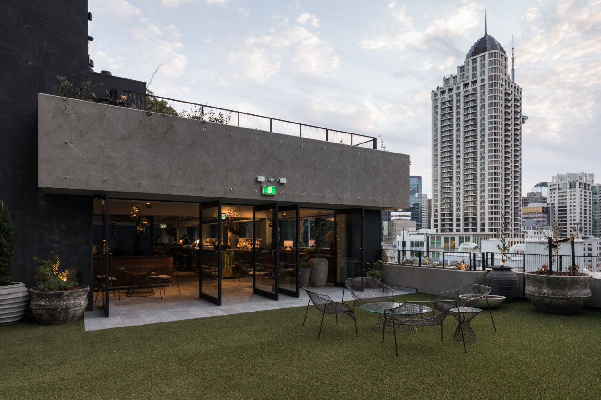 bankside extension northern club roof terrace