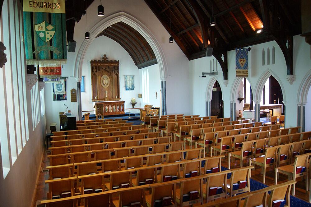 diocesan school for girls chapel interior