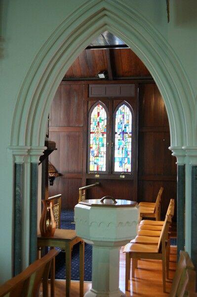 diocesan school for girls chapel windows