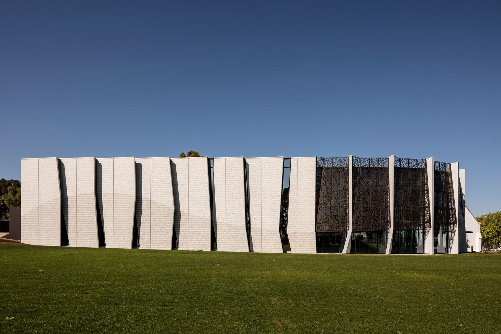 diocesan school for girls performing arts centre concrete