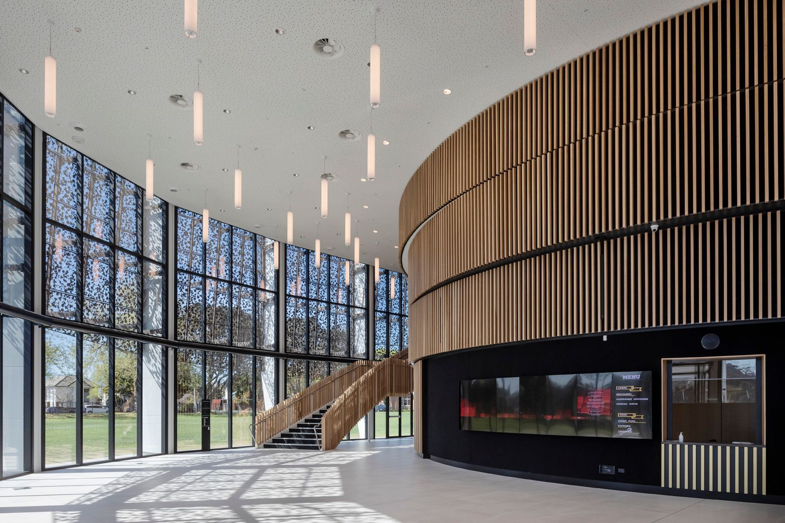 diocesan school for girls performing arts centre foyer