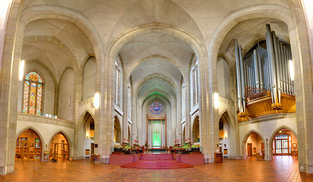 holy trinity cathedral arches