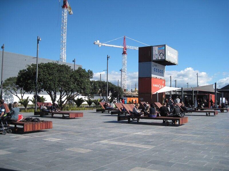 karanga plaza benches