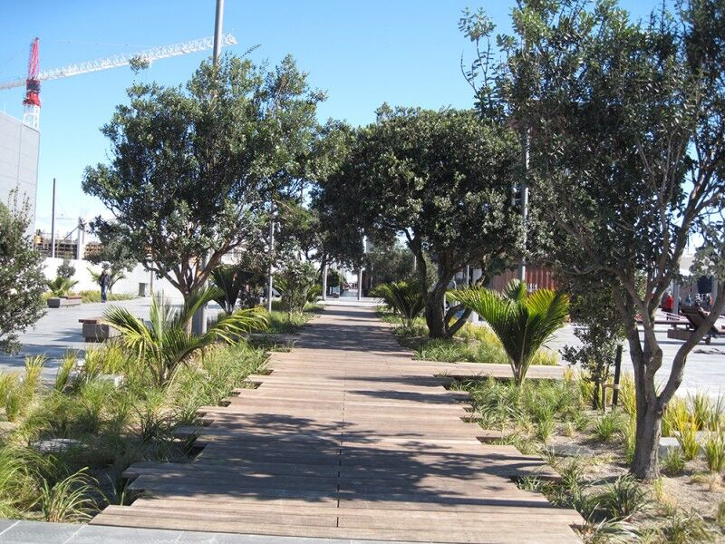 karanga plaza boardwalk