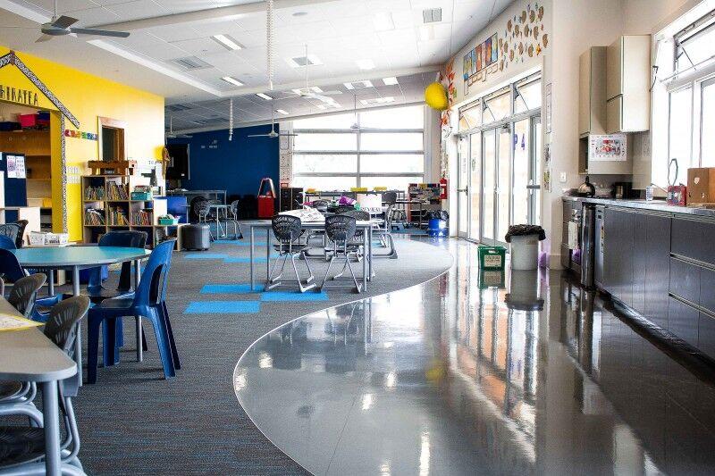 new lynn school interior