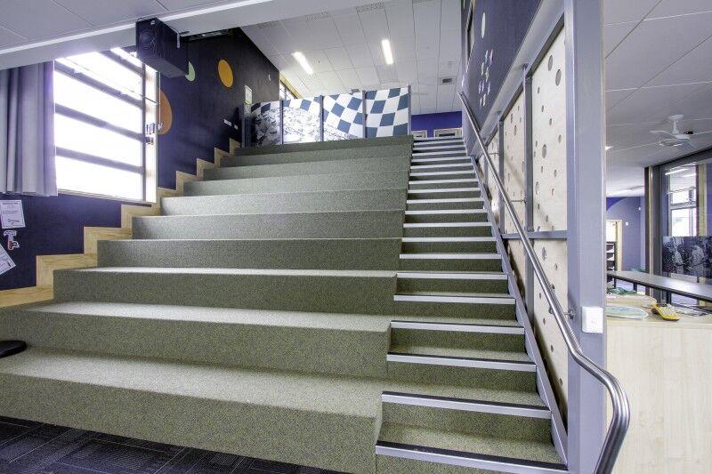 riverhead school stairs