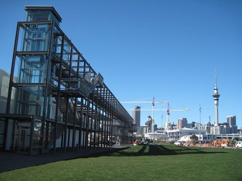 silo park viewing platform daytime