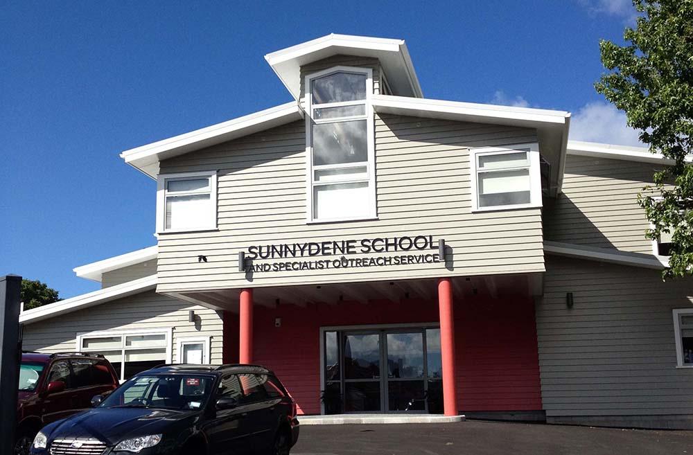 sunnydene special school exterior