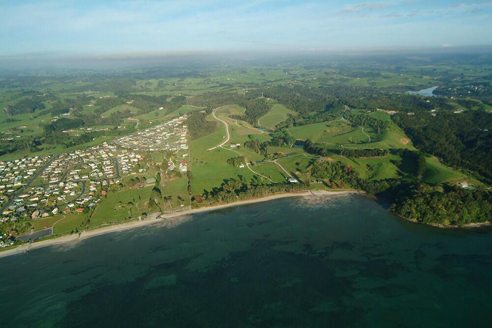 whisper cove subdivision aerial