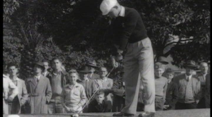 harry berwick title sequence golf swing golf tournament