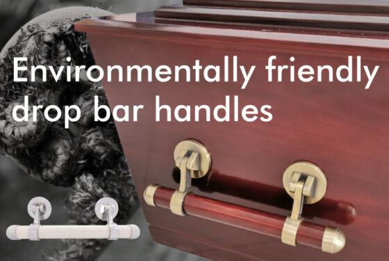 Environmentally friendly drop bar handles