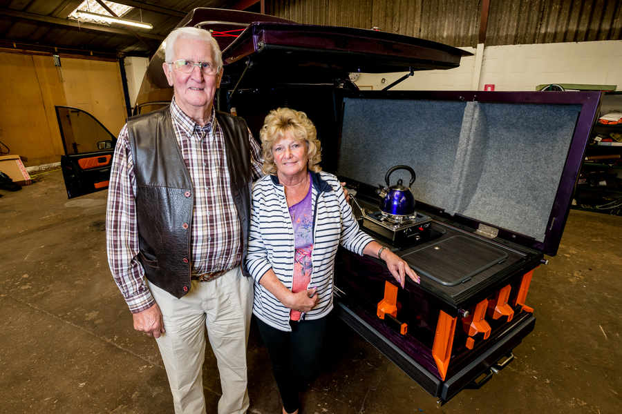 Upcycling a hearse