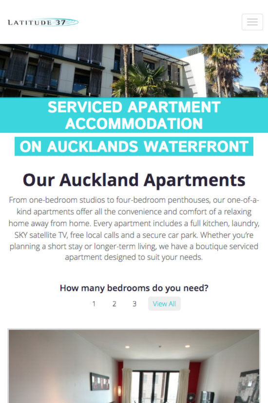 ss latitude website redesign apartments mb