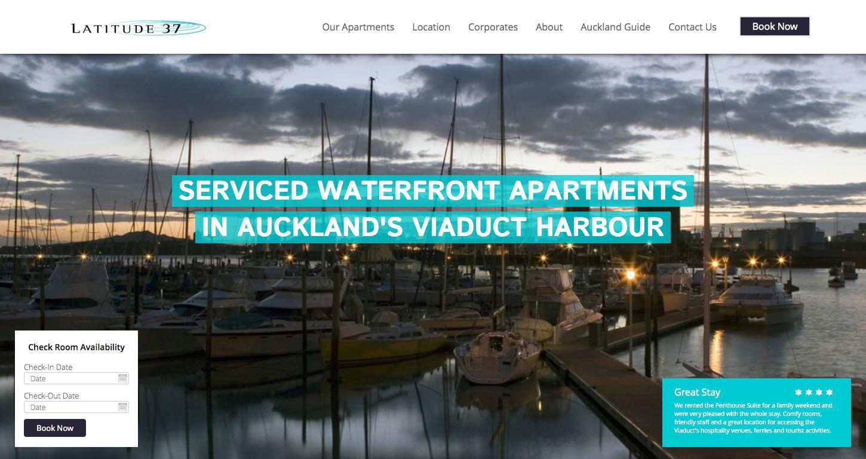 ss latitude website redesign home widget dt