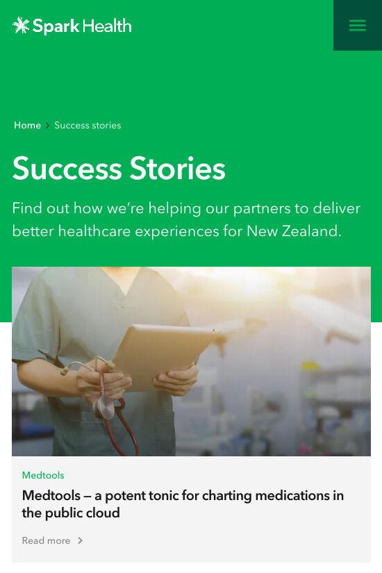 ss mob spark health successstories