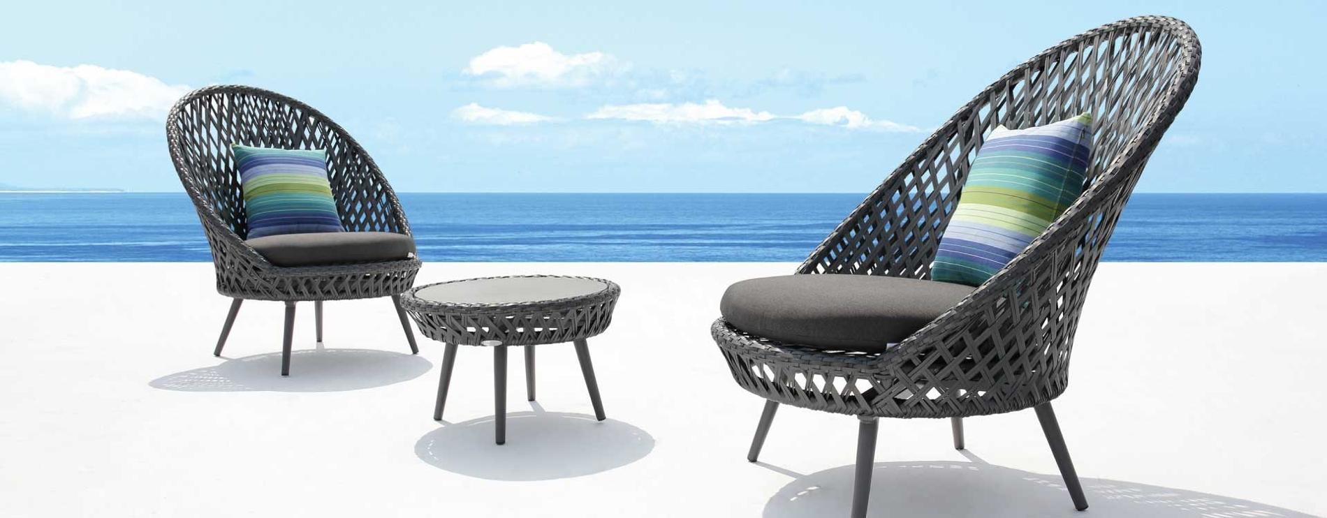Siena Outdoor Chairs Slate Grey