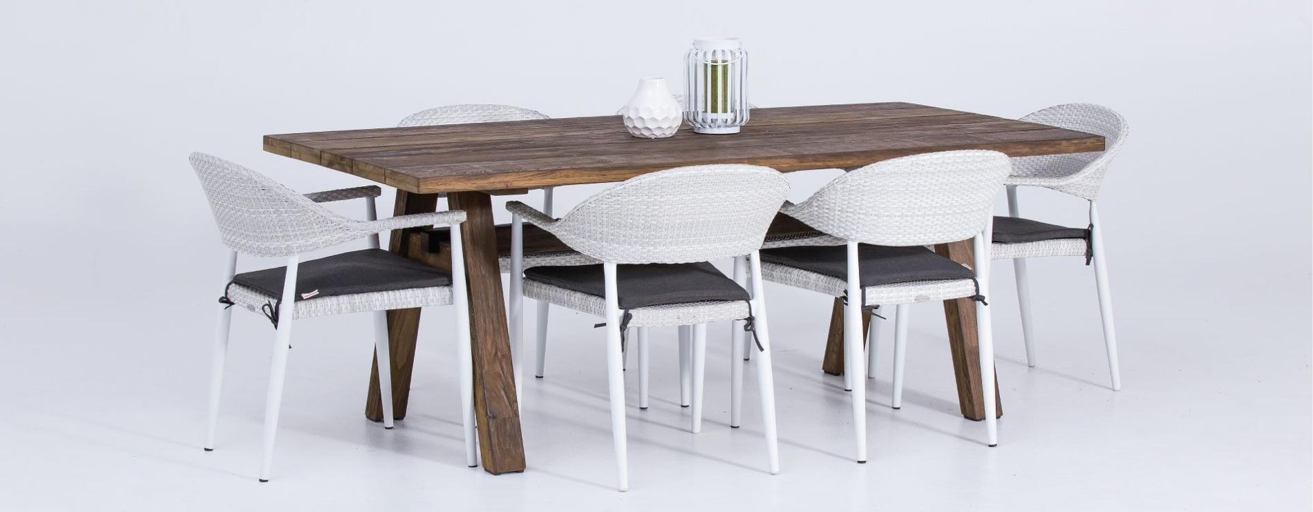 Teak Wooden Table 6 Seater